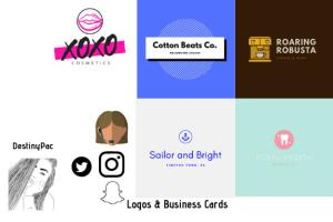 Portfolio for Graphic Design - Logo & Business Cards