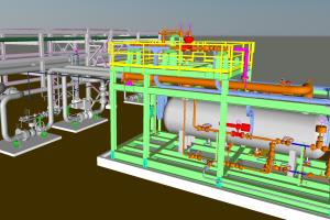 Portfolio for AUTOCAD CADWORX PLANT 3D PIPING