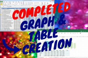 Graph and Table in Excel