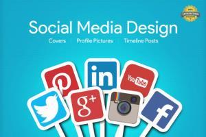 Portfolio for Social Media Kit Graphics