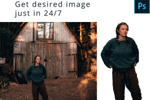 Portfolio for Resize & Remove Background of your image