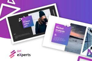 Portfolio for Investor Pitch Deck design
