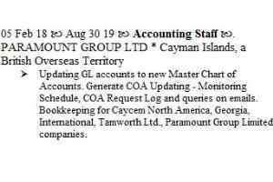 Portfolio for Bookkeeper, Intuit-Quickbooks Expert