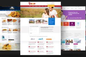 Portfolio for Web Designer and Hosting