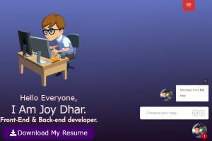 Portfolio for Web Designer, Web Developer & Writer