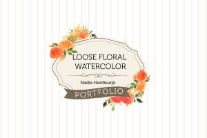 Portfolio for Graphic Designer and Watercolor Artist