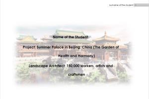 Portfolio for Architectural solutions