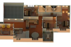 Portfolio for 2D and 3D Floor plans