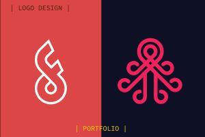 Portfolio for I will design modern minimalist logo