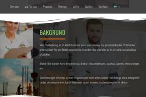 Portfolio for Swedish translator and proofreader