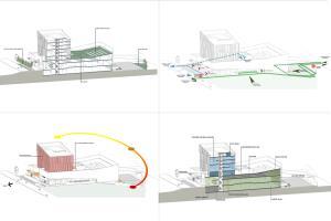 Portfolio for architectural concept projects