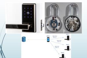 Portfolio for Bluetooth Lock Hardware Design with App