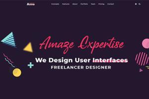 Portfolio for UI/UX Designer & Front-end Developer
