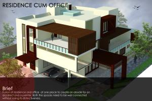 Residence with Office