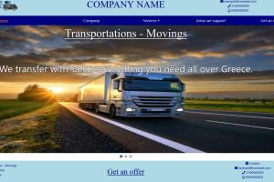 Transportation Company Website