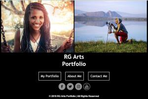 Portfolio for Web developer and designer.
