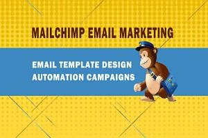 Portfolio for Mailchimp Email Campaign, Automation.