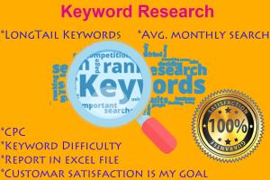 Portfolio for Targeted keyword Research to Your Niche