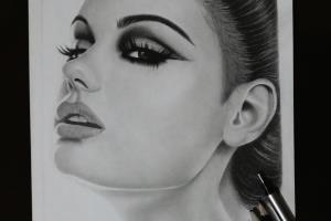 Portfolio for Realistic Pencil Portrait Sketch