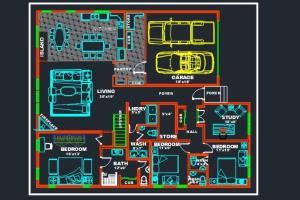 Portfolio for Floor plan designer
