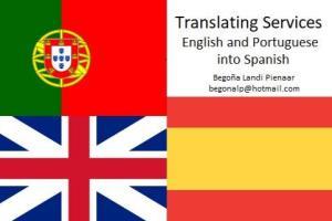 Portfolio for Translator, English-Spanish form Spain