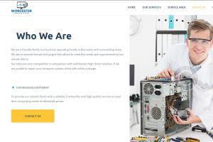 Portfolio for I will build a professional website