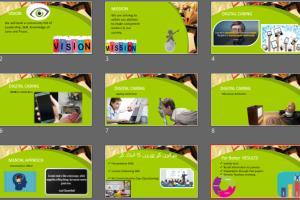 Portfolio for Making Presentation & Data Analysis