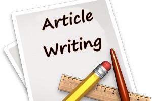Portfolio for article writing