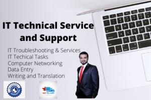Portfolio for IT Technical and Network Support