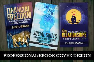 Portfolio for Book Cover E Book Cover Design