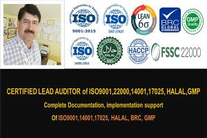 Portfolio for ISO Document(9001,14001,FSSC22000,17025)