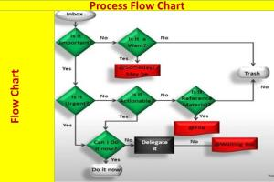 Portfolio for Process Flow Charts,Organizational Chart