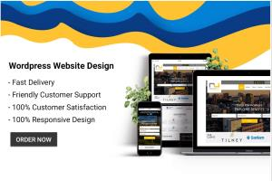 Portfolio for create professional  wordpress Website