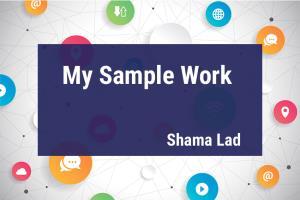 Portfolio for Digital Marketing and Graphics expert