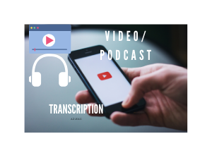 Portfolio for Transcription Video & Audio