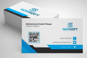 Portfolio for Business Cards with Stationary