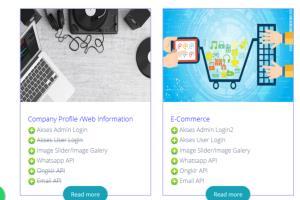 Portfolio for Freelancer web developer