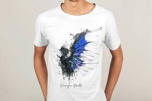 Portfolio for I Will Do Watercolor T shirt Design