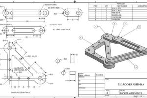 Portfolio for Mechanical Design & Technical Drawing
