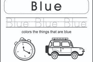 Portfolio for Kids coloring, Math, Scissor Workbook