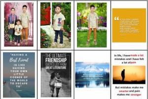 Portfolio for Picture Quotes and Vector Quotes Design