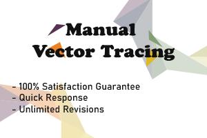 Portfolio for manual vector tracing