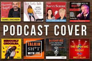 Portfolio for podcast cover