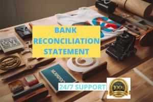 Portfolio for Bank Reconciliation