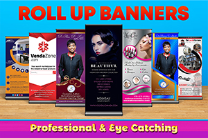 Professional Roll up Banner Designs
