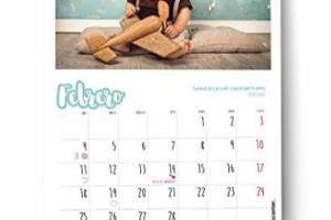 Portfolio for I will create a desk calendar for 2020