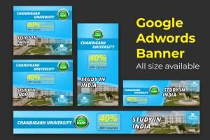 Portfolio for I will Design banner for google Add