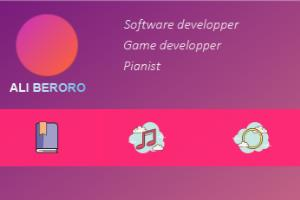 Portfolio for Software developer and game developer