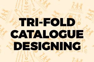 Portfolio for Tri-fold Catalog Design