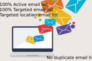Portfolio for Scrap active targeted emails from any so
